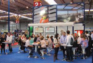 Stand de Cerramientos Integrales de la Feria de Muestras de Zaragoza