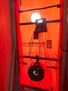 Ventilador Blower Door