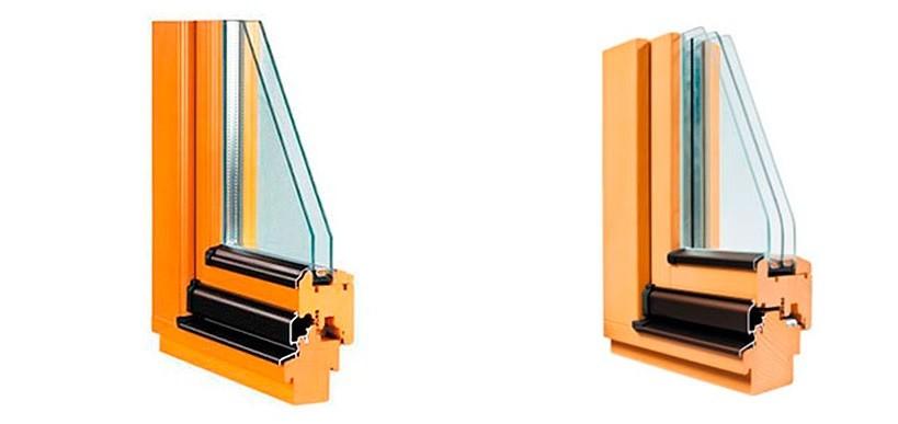 Ventanas de madera o de aluminio